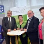 31.01.2017 Unterzeichnung des  Kooperationsvertrags mit der St.Elisabeth-Stiftung