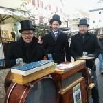 Drehorgelaktion auf dem Nagolder Weihnachtsmarkt Team Volker Haug