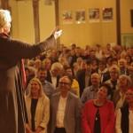 Die Sieben Schwaben Speaker beim Benefizauftritt in der Seminarturnhalle Nagold