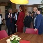 Minister Wolf im Gespräch mit Jutta Benz und Simone Grünke